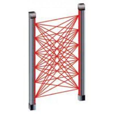 Barrière infrarouge 1,5m, 6Tx + 6Rx
