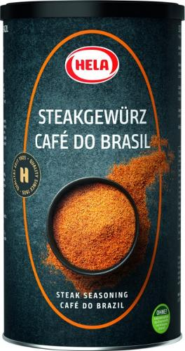 Hela Steak Pepper Café do Brasil 750g. Grill pieces. Spices.
