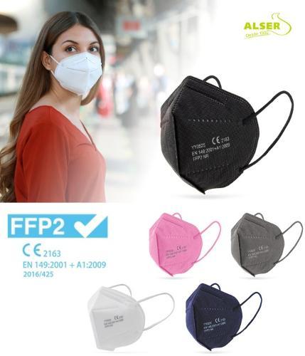 Mascarillas FFP2 homologadas para empresas y profesionales