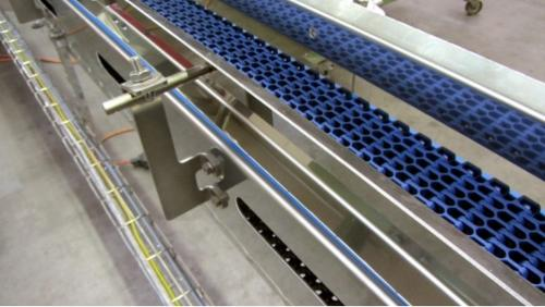 Mat chain conveyors - Stainless steel system