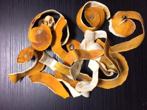 kurutulmuş portakal kabuğu