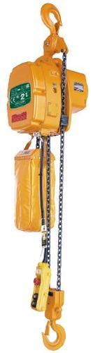 Palans électriques à chaîne - usage courant