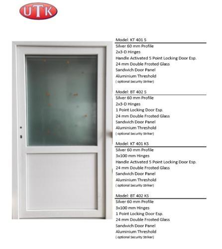 UTK White Pvc Door