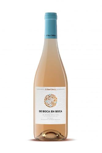 De Boca en Boca Rosé Wine 2019 0,75cl- San Cebrín