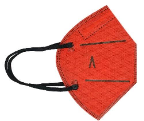 Hygienic Mask Plus Reusable RED
