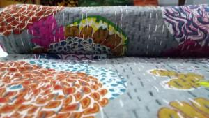 Kantha baby quilts