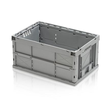 Folding containers