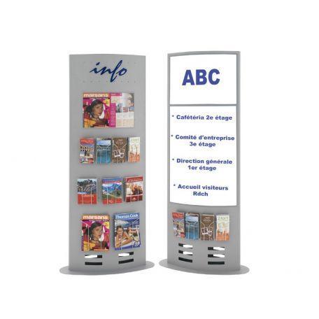 Totem D'exposition Porte Brochures