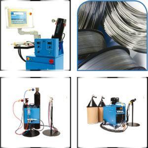 Macchine e prodotti consumabili per metalizzazione