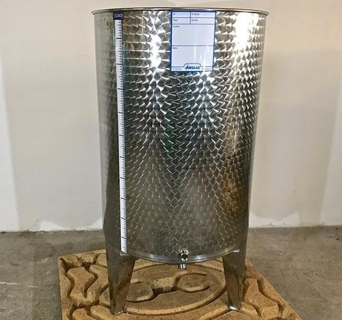 Depósito de acero inoxidable - 6 HL
