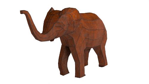 Sculpture «Baby elephant»