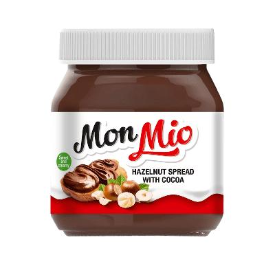 Pâte à tartiner chocolat noisettes 400g - MONMIO