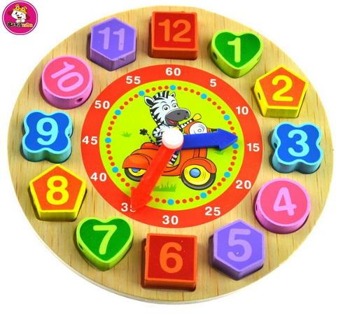 Number Puzzle Educational Wooden Toys for Kids