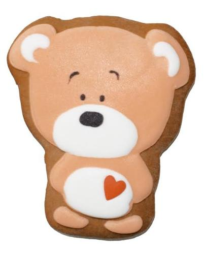 """Gingerbread """"BEAR WITH HEART"""""""