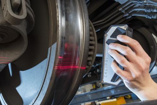 Moyen de mesure d'essieux montés CALIPRI C41/C42