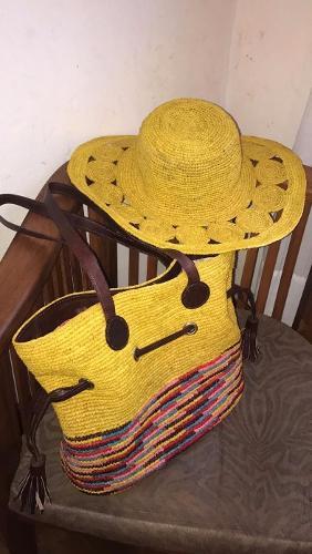 Sac et chapeau crochet