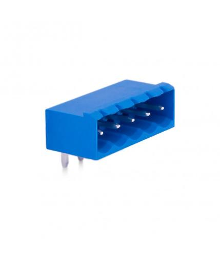 5,08mm Socket Terminal Male 90° With Side Panels - 5 Pins