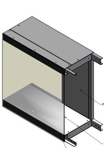 Projekt CAD obudowy