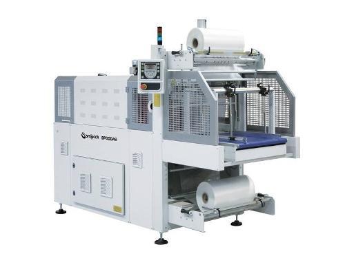 Automatische bundelmachine Smipack, Type BP 800AS/802AS, met krimptunnel