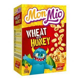 Céréales blé soufflée au miel 250g - MONMIO