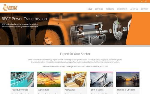 Web Development voor industriële bedrijven