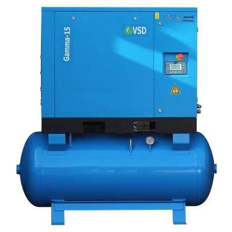 Screw Air Compressor Direct Coupled Inverter Driven