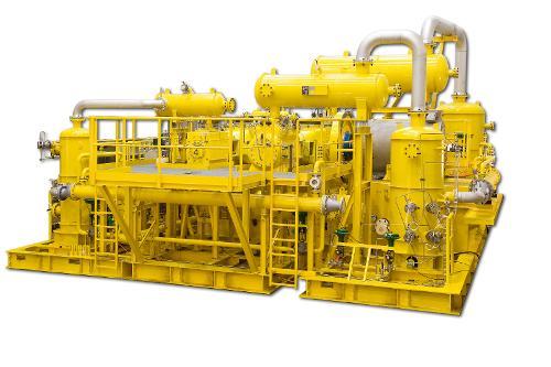 Prozessgas-Kompressoren gemäß API618