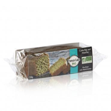 Cake au thé vert Matcha Bio