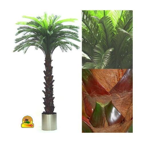 Kunst Cycas palm 300cm Speciaal voor buiten UV Safe en Water