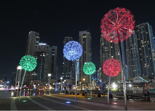 Dandelions (Soffioni) – Dubai, Emirati Arabi Uniti (EAU)