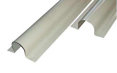 Semicircular metal duct