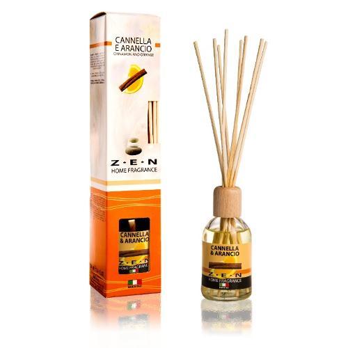 Zen-Home fragrance Diffusore Ambiente 100ml con midollino