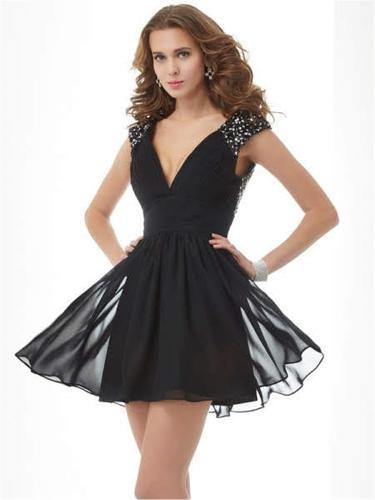 Hanging Short Evening Dresses