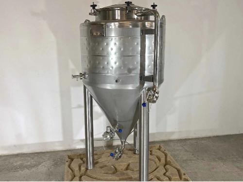 Serbatoio in acciaio inox 304 - Cilindro-conico