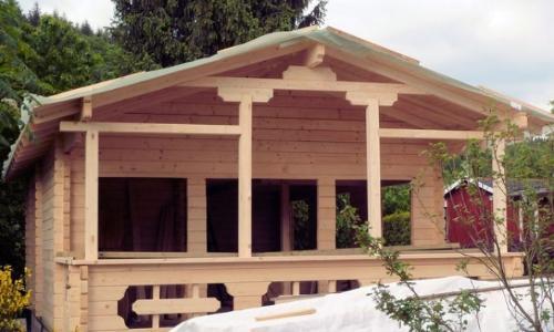 Self build lodge home kits