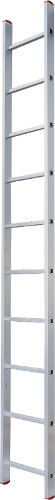 One-section aluminium rung ladder NV 2210