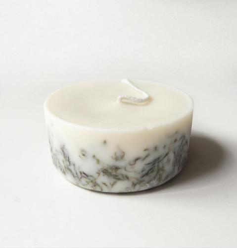 "Moss, Scented Soy Wax Candle ""5 SENSES"""