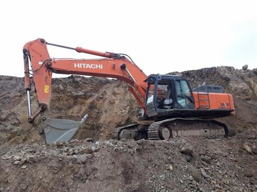 USED HITACHI ZX490 LCH-5A CRAWLER EXCAVATOR FOR SALE