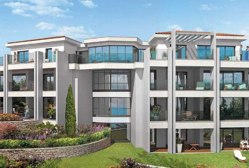 Exclusive 3 bedroom apartment in luxury park Cannes