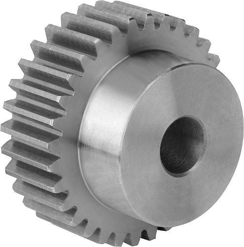Spur gears in steel
