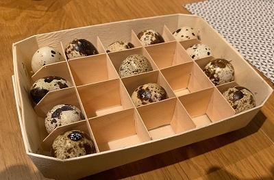 упаковка деревянная для яиц