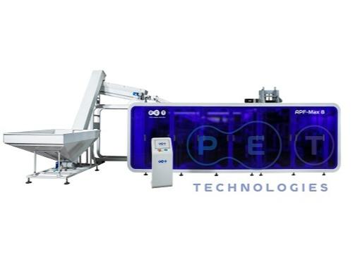 Automatic blow molding machine APF Max-8