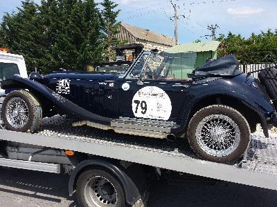 Transport voiture de collection, voiture ancienne