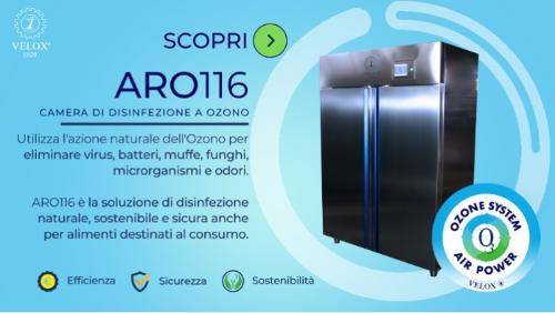 Camera di Disinfezione a Ozono ARO116