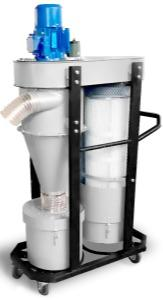 Cyclone Dust Collector Miha-Vac MDS-Q3-Mobile