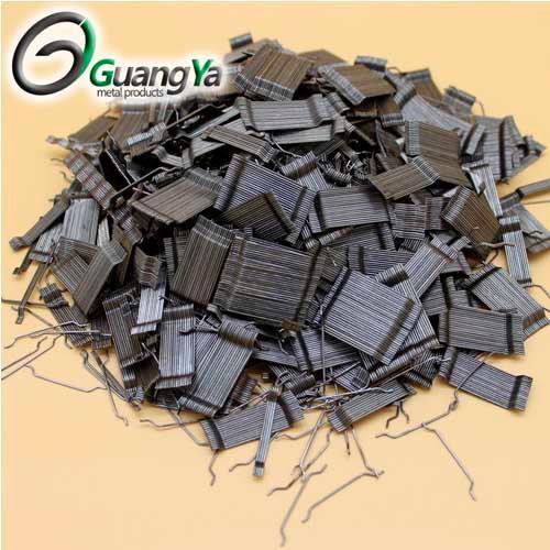 GY-50 / 0,75 Extremo enganchado de fibra de acero