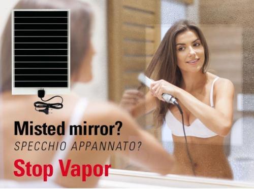 Stop Vapor anticondensa per specchi Mirror demister defogger