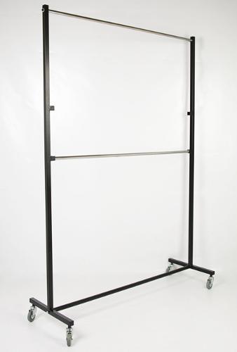 Perchero Industrial 2 barras 150 cms.