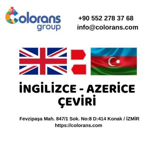 İngilizce Azerice Çeviri