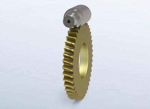 Customizable SPN worm drives